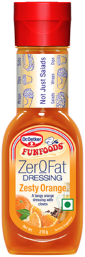 Zer0Fat Dressing Zesty Orange