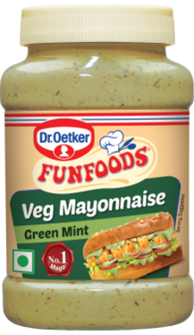 Veg Mayonnaise Green Mint 250g
