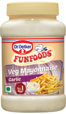 Veg Mayonnaise Garlic 250g
