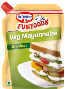 Veg Mayonnaise Original 875g