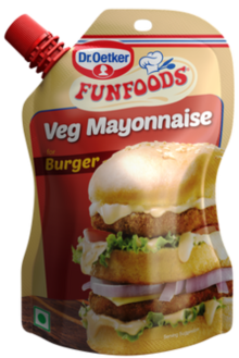 Veg Mayonnaise for Burger 100g
