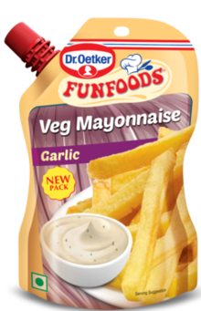 Veg Mayonnaise Garlic 100g